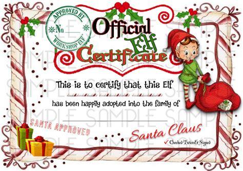 free printable elf adoption certificate elf shelf rudolph reindeer adoption certificate digital