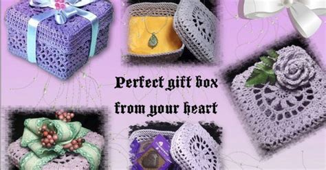 pattern present perfect crochet gift box for mother s day to hold the perfect