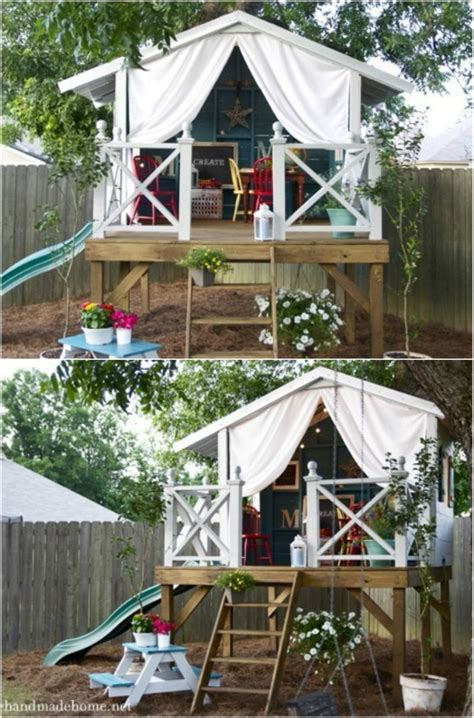 great diy ideas  outdoor play areas   kids