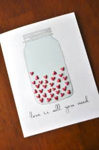 Diy Handmade Cards - diy valentines day cards for your husband your and