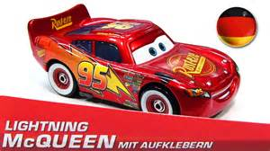 Lightning Mcqueen Car Stickers German Promo Lightning Mcqueen With Stickers Mit