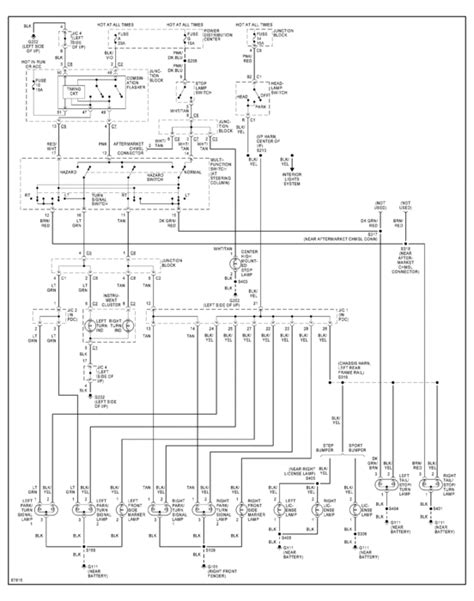 1998 dodge ram 3500 headlight switch wiring diagram the