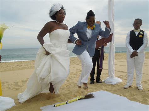 Wedding Ceremony Jumping The Broom by Thought The Ceremony Jumping The Broom
