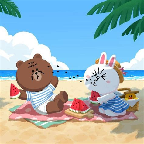 Correction Brown Cony Sally 18 best brown and cony images on cony brown line sticker and line friends