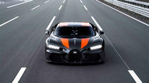 bugatti chiron breaks  mph top speed barrierholy
