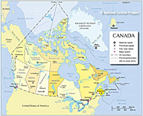 canadian map key canada in figures key statistical data for economic
