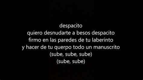 despacito youtube lyrics despacito nightcore lyrics youtube