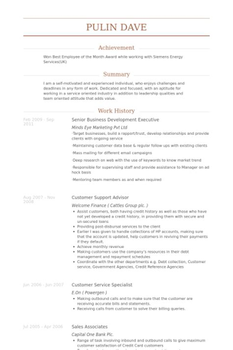 Sle Resume Of Senior Business Development Manager Senior Business Development Manager Resume 28 Images Senior Business Development Manager