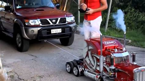 Cars For Big And by Small Car Pulling Big Car