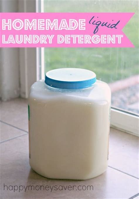 liquid laundry soap recipe jars and