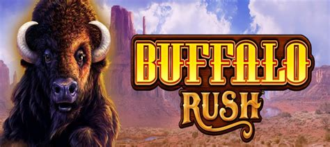 buffalo rush slots full review  aristocrats newest
