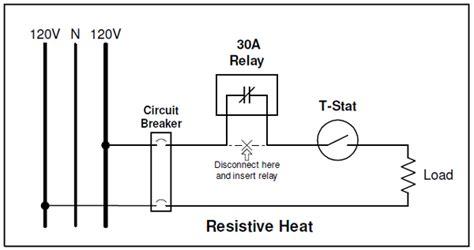 resistor heating circuit of resistive heat energy sentry tech tip