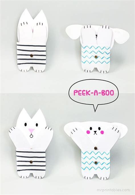 jointed paper doll template 5 diy for inspired by animals creatures paper