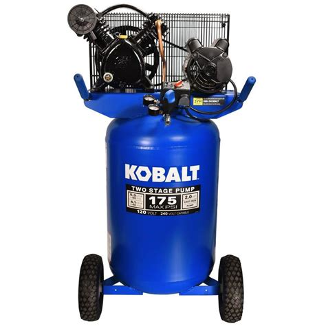 kobalt kobalt 30 gallon portable electric vertical air compressor at lowes