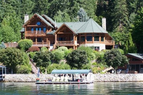 beachfront houses for sale hayden lake idaho waterfront homes for sale