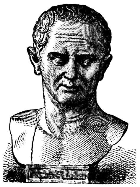 marcus tullius cicero clipart