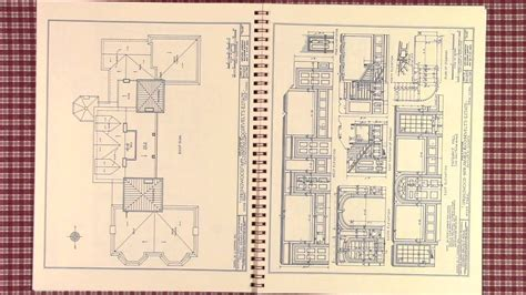 springwood drawings home of fdr hyde park ny plan