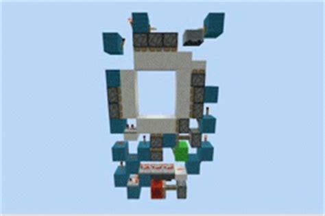 How To Make A 3x3 Piston Door by Smallest 3x3 Piston Door In Minecraft Minecraft