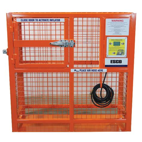 automatic hd tire inflation cage esco