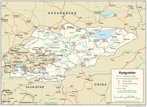 kyrgyzstan maps perry casta 241 eda map collection ut