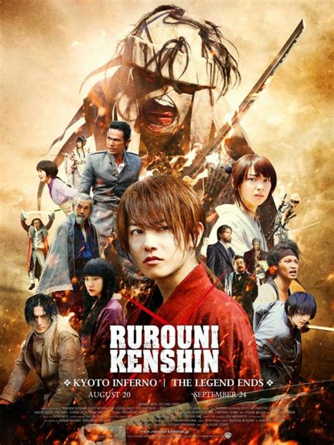 film anime live action movie review rurouni kenshin kyoto inferno is a live