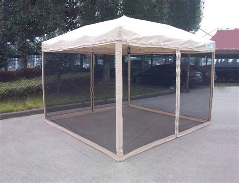 ez up gazebo quictent screen 174 ez pop up gazebo tent canopy mesh