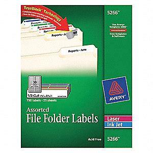 template for avery file folder labels 5266 avery laser inkjet label 5266 file folder pk25 file