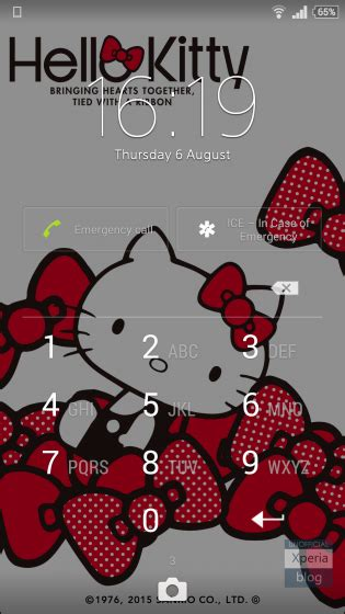 hello kitty themes blogspot hello kitty xperia theme now available xperia blog