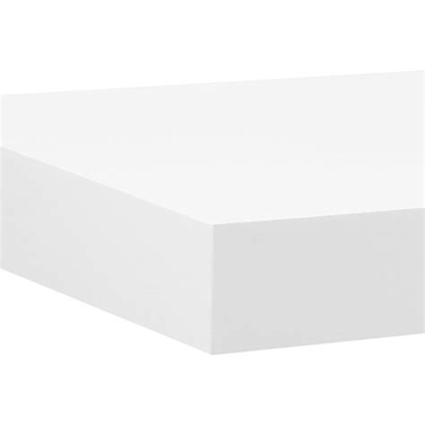 big boy 22 5 quot white floating shelf fast shipping