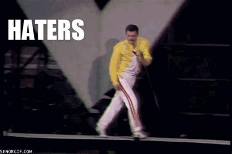 Meme Freddie Mercury - 14 haters gonna hate gifs smosh
