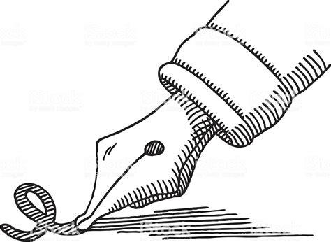 lettere stilografiche penna stilografica scrittura disegno della punta