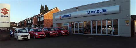 Suzuki Car Dealer Locations Suzuki Dealer Telford T J Vickers Sons