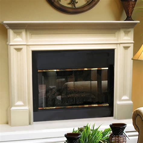 interior cool fireplace mantel kits for your family room