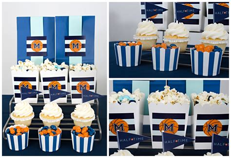 Creative Decorations For Home Quot Half Quot Time Basketball Birthday Party Hoopla Events