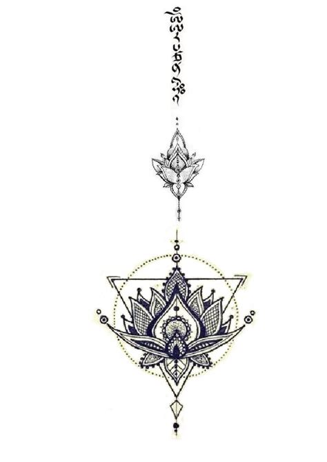 lotus flower with om tattoo designs 1000 ideas about mantra on mirror