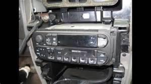 installation of an aftermarket stereo in a 2001 dodge