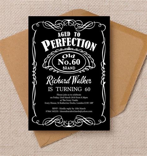 invitation ideas for 60th birthday best 20 60th birthday invitations ideas on 70th birthday invitations