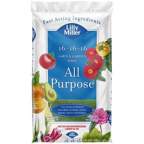 Lilly Miller Lawn & Garden 16 16 16 Fertilizer