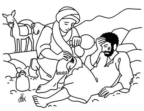 coloring page for good samaritan good samaritan parable bible 519035 171 coloring pages for