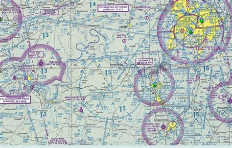 airport sectional charts rough river carnard flyin