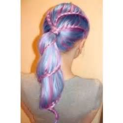 hair styles and color colored hair polyvore