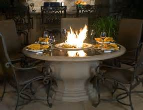 Patio Table With Firepit Outdoor Living Pit Table For The Home