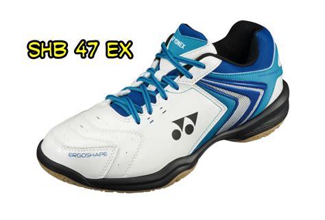 Sepatu Badminton Ebox jual perlengkapan olahraga bulutangkis badminton aksesoris baju celana grip karpet lapangan
