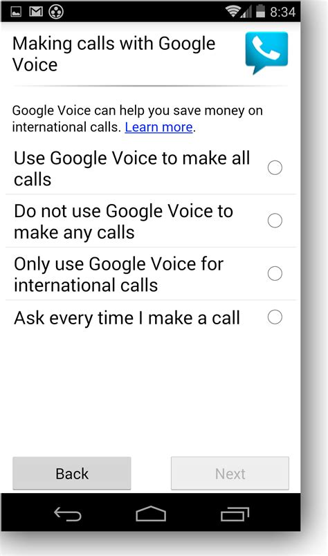 make calls with android voice help - Calls For Android