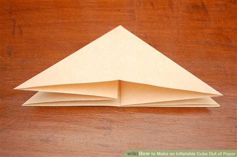 How To Make A Cube Out Of Paper Easy - how to make an cube out of paper 11 steps