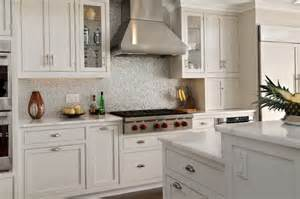 backsplash in kitchens small square tile backsplash home design ideas