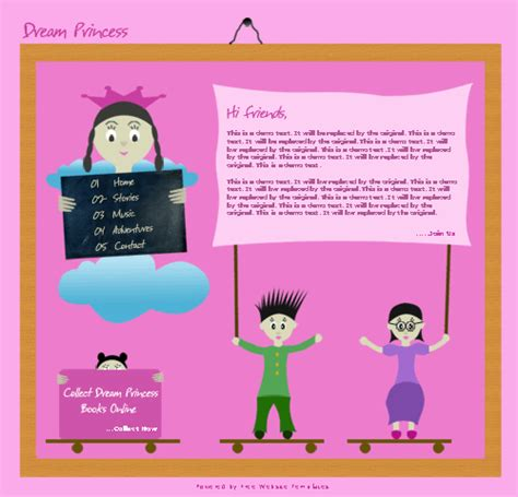 website templates for children s books website template for children free website templates