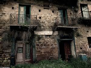 old abandoned buildings the towns that time forgot haunting images of italy s