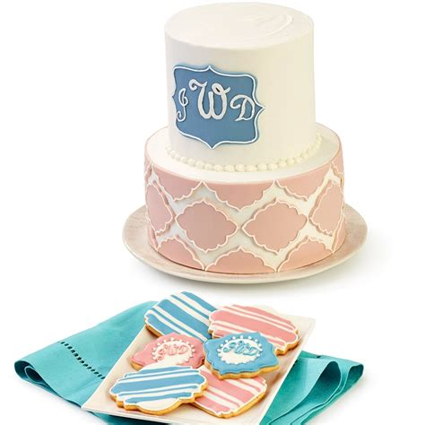 Fondan Set fondant plaque cutter set 6