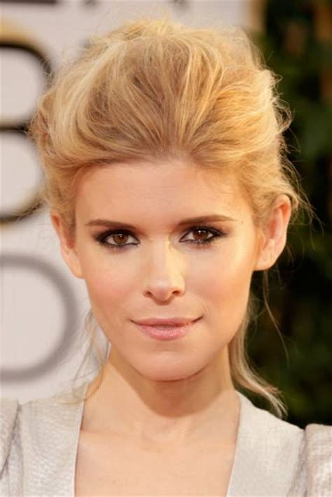 blonde hair amber eyes get the look kate mara s makeup at the golden globes 2014